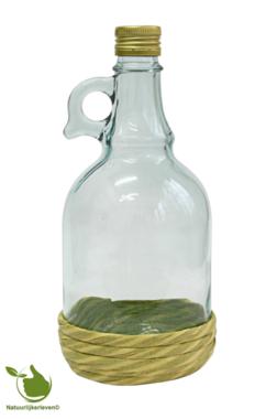Authentische Likörflasche aus Glas 1 liter