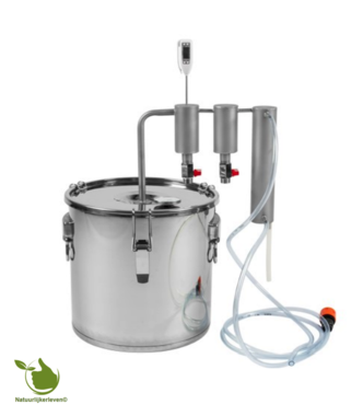 30L Edelstahl Destillator - 2 Säulen