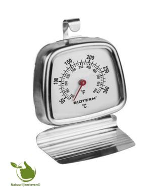 Ofenthermometer (quadratisch) 50 + 300 ° C