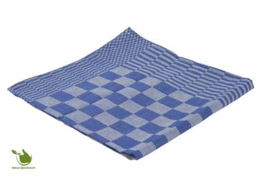 Geschirrtuchblock 65x65cm blau 6 Stück