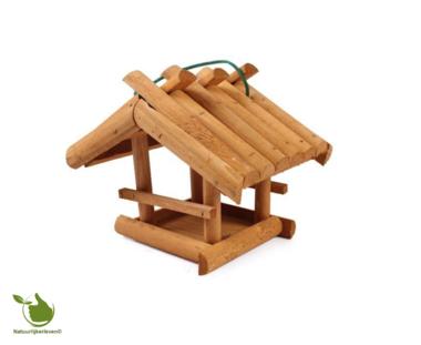 Feeder für Gartenvögel - Holz, 24x20x21 cm