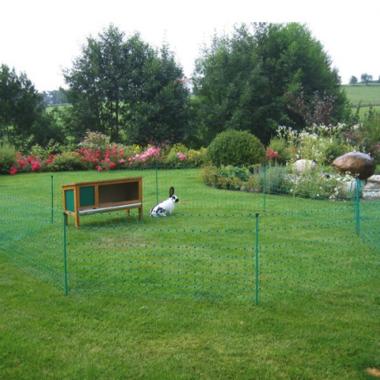 AKO-Kaninchennetz 65cm x 12m Einzelstift