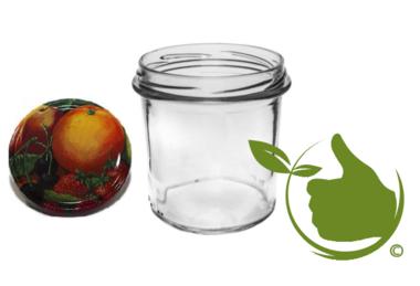 Marmeladengläser 346 ml mit twist-off deckel (fruit classic) 6 Stück