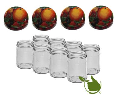 Einmachgläsern 900 ml mit twist-off deckel (fruit classic) pro 8 Stück