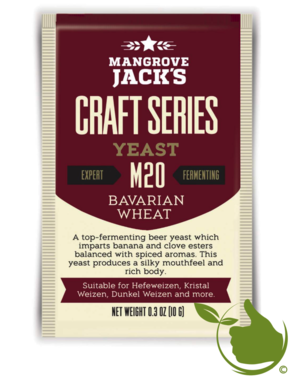 Trocken Bierhefe Bavarian Wheat M20 - Mangrove Jack's Craft Series - 10 g