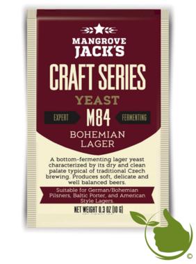 Trocken Bierhefe Bohemian Lager M84 - Mangrove Jack's Craft Series - 10 g