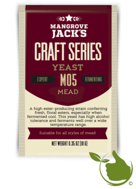 Trocken Bierhefe Mead - Mangrove Jack's Craft Series - 10 g