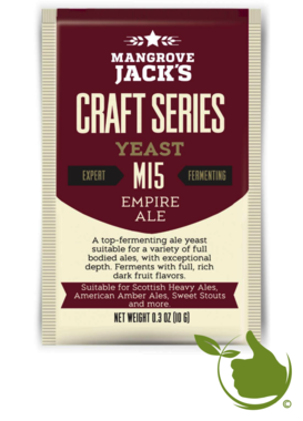 Trocken Bierhefe Empire Ale M15 - Mangrove Jack's Craft Series - 10 g