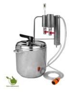 12L roestvrijstalen distilleerder - 2 kolomen